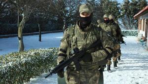 Söz dizisi oyuncuları askeri eğitim aldı