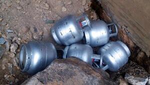 PKKnın yola tuzaklamak istediği 2 tonluk el yapımı bomba imha edildi