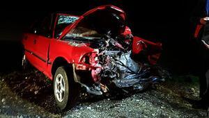 Osmaniyede trafik kazası: 2 ölü, 4 yaralı