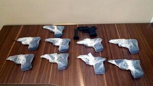 Cizrede 11 tabanca ele geçirildi