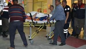 Traktör uçuruma düştü: 1 ölü, 1 yaralı