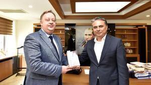 Başkan Uysal Rus Konsolosu ağırladı