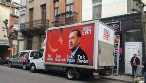 Türk iş adamından referandum kampanyası