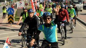 Çanakkalede bisiklet turu