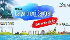 Zonguldakta dalga enerjisinden elektrik üretilecek