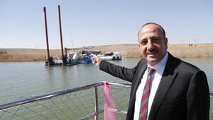 Başkan Duruay, eski belediye başkanlarına Mogan Gölü çalışmalarını anlattı
