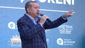 Erdoğan: Malum zat kuzu kuzu geldi