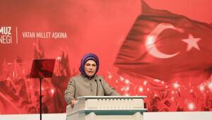 Emine Erdoğan: 15 Temmuz halk devrimidir
