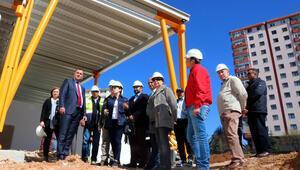 Başkan Taşdelen'den proje ziyareti