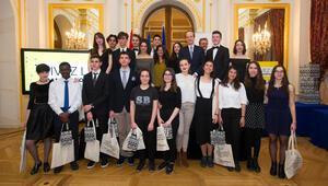 Öğrencilere Fransız Büyükelçiliği'nden ödül