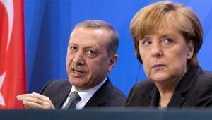 Merkeli zorlayan Erdoğan sorusu