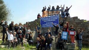 Fosil yakıt karşıtları Kymeye eylemi