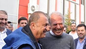 A Milli Takım idmanında Mustafa Denizli sürprizi