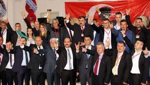 MHP Kumluca kongresi yapıldı