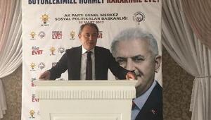 AK Partili Tin, yaşlılardan destek istedi