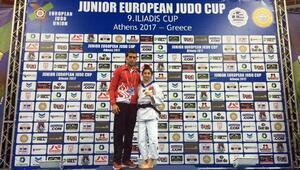 Gençler Judo Şampiyonasında Çiçek üst üste ikinci kez avrupa şampiyonu