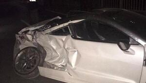 Alanyada kaza: 2 yaralı