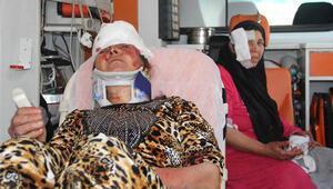Suriyelilerin satırlı sopalı kavgası: 2si kadın 7 yaralı