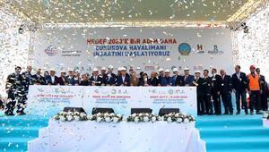 Çukurova Bölgesel Havalimanı inşaatı yeniden başladı