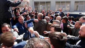 Sinan Oğan'ın Yozgat toplantısında arbede çıktı