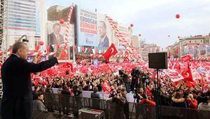 Erdoğan: Geçmişte yüzde 15 oy almış bir kişi başbakanlık yaptı