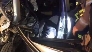 İzmitte tünelde kaza: 3 yaralı