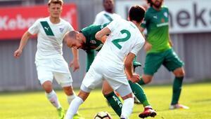 Bursaspor'dan gol şov: 8-1