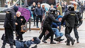 Belarus karıştı