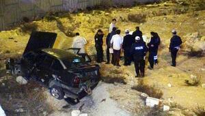 Gaziantepte otomobil devrildi: 1 ölü, 2 yaralı