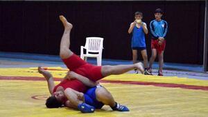 Adanada Serbest Güreş seçmeleri yapıldı