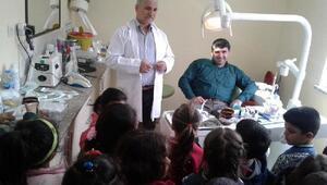 Miniklerden Diş Hastanesi ziyareti