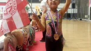 Antalyasporlu sporcu birinci oldu