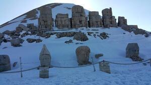 Kar temizlendi, Nemruta ziyaretler başladı