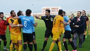 Korkuteli, Manavgat maçında gerginlik