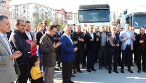 Kırıkkaleden Suriyeye yardım eli