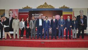 MHPli Akçay Somada anayasa değişikliğini anlattı