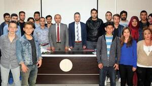 Öğrencilere güvenlik konferansı