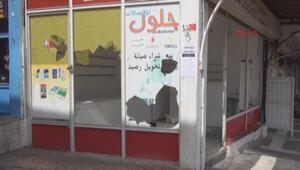 Şanlıurfada Suriyeli dükkanlara saldırı