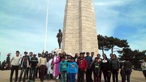 Öğrenciler Çanakkaleye hayran kaldı