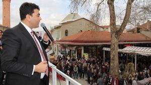DP Lideri Uysal: Erzurumda ip atanlar kendi beka sorunları dolayısıyla iktidarın önünde havlu attı