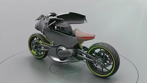 Porschetan sıra dışı bir elektrikli motosiklet konsepti