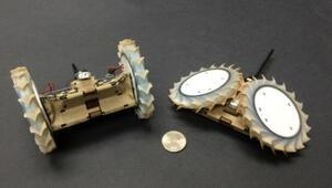 Katlanabilir uzay robotu: PUFFER