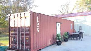 Bu konteynerin içi lüks bir daire!