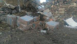 Mezradaki evden 33 bin paket kaçak sigara çıktı