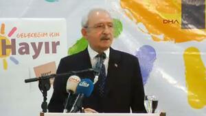 Kılıçdaroğlu: Meclisin feshi yok diyorlar ya...
