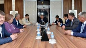 Kırgız başkanlar Muratpaşada