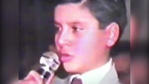 Alişanın 11 yaşındaki görüntüsü
