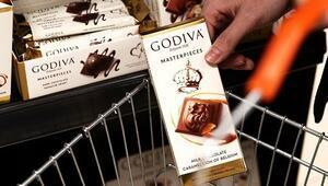 Godiva en sevilen üç ürünü ile raflarda