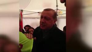 Erdoğanın ziyaret ettiği Hayır çadırının içinden görüntüler