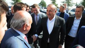 Çavuşoğlu: Milliyetçi kendi nefsine yenilip de PKKlılarla aynı safta yer alamaz (2)